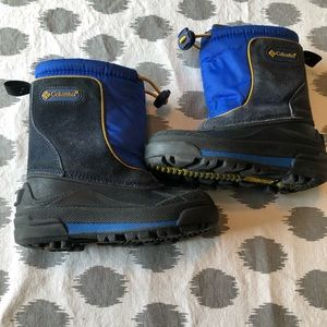 Toddler Size 9 Columbia Winter Boots with Liners